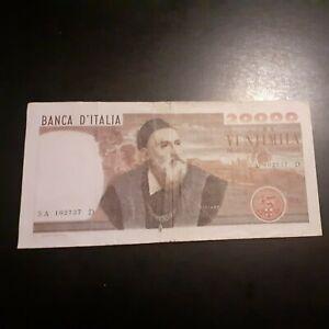ITALIA BANKNOTE 20000 lire tiziano 21 02 1975