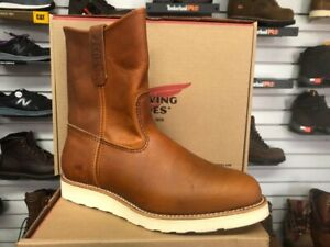 """100% AUTHENTIC RED WING 866 """"IRISH SETTER""""WORK BOOTS NEW IN BOX MADE IN USA"""