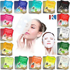40pcs Korean Essence Facial Mask Sheet, Moisture Face Mask Pack Skin Care set