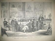 COMEDIE FRANCAISE COMITé DE LECTURE LONDRES VENTE CHIENS TROUVéS GRAVURES 1869