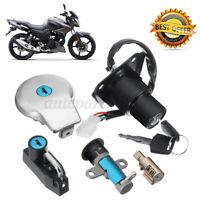Switch Ignition Fuel + Gas Cap + Tank Key Set For Yamaha Virago XV125 XV250