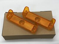 1967 Impala Belair Biscayne Parking Light Lamp Lens Pair Amber Limited offer