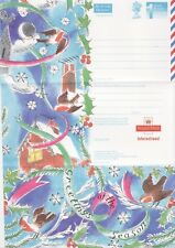 GB Stamps Aerogram / Air Letter APS113 - 1st NVI  Robins Christmas Issue 1995