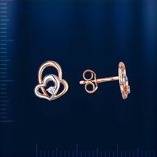 Russische Gold 585,  Fianiten Ohrringe  OR73111