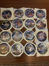 "Franklin mint ""Maiden�plates. 16pc"