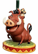 DISNEY STORE PUMBAA & TIMON 2011 SKETCHBOOK CHRISTMAS ORNAMENT NEW The Lion King