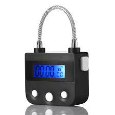 Multipurpose Bondage Time Electronic Timer Lock BDSM Fetish For Cuffs Mouth Gag