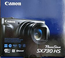 *BRAND NEW* Canon PowerShot SX730 HS HD Wi-Fi Digital Camera - Black