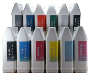 12- 1000ml bottles Pigment ink for CANON imagePROGRAF PRO printers  NON - OEM