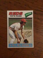 1977 TOPPS BASEBALL card ~~~ #450 PETE ROSE ~~~ CINCINNATI REDS ~~~ NL ALL STAR