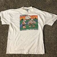 Vintage 1999 Tundra from Alaska Graphic T-Shirt Men's Size Large