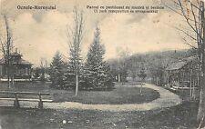B35026 Ocnele Muresului Parcul cu Pavilionul de Muzica Marosujvar alba  romania