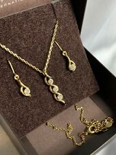 Gold Jewelry Set for women - Coleccion Tres Amores