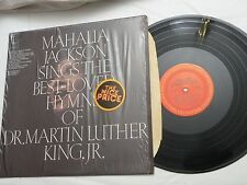 LP, Mahalia Jackson Sings the Best-Loved Hymns of Dr. Martin Luther King, Jr, NM