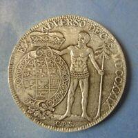 Gc1. Germany Medal Münze Medaille AOK Ein Trimm Taler 1979 Deutscher Sportbund