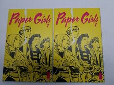 Paper Girls #1 Lot of 2 Image Comics First Print Brian K Vaughan Amazon