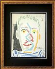 PABLO PICASSO + 1964 SIGNED SUPERB PRINT MATTED 11 X 14 + LIST $695