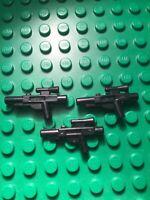 LEGO® Star Wars™ 3x Waffe/Weapon/Blaster Mittel - Ersatzteil