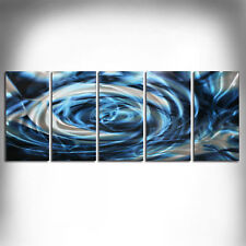 METAL WALL SCULPTURE PAINTING Original Abstract Art Home Decor Hand Made 12314