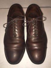 Allen Edmonds 'Park Avenue' Brown Calfskin Cap Toe Oxfords Size 8D