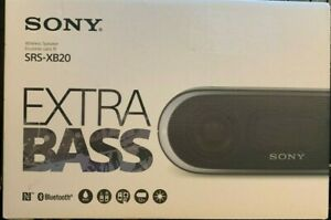 Sony SRS-XB20 Bluetooth Speaker - Black