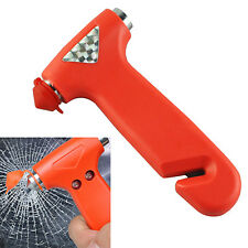 HK- Car Glass Window Breaker Safety Escape Emergency Hammer Seat Belt Cutter Def