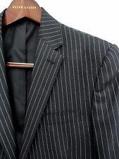Ralph lauren striped Wool suit IT50R Uk40R $4995 New Purple Label Blazer+pants