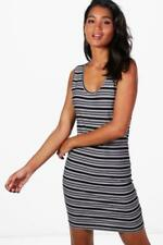 Boohoo Sleeveless Stretch Dresses for Women
