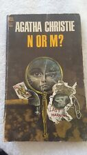 Mystery Paperback. Agatha Christie: N or M? Dell Publishing