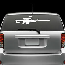 Barrett 50 Cal M82A1 Windshield Sticker Die Cut Decal Vinyl Large sniper rifle