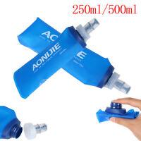 Bouteille souple pliante bouteille d'eau de sport pour le campingTRFR
