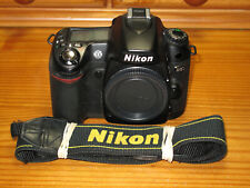Nikon D D80 10.2MP Digital SLR Camera  Body only. Very low shutter count of 7598
