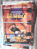 READY TO RUMBLE  1 SHEET AUST DVD VERSION MOVIE POSTER