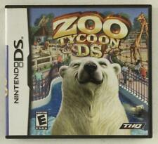 Nintendo DS Game ZOO TYCOON Rated Everyone Complete Game Directions & Case