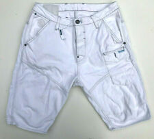 G-Star Shorts 'NAVY 5620 3D TAPERED 1/2' RAW ORGANIC Light Aged Size 36