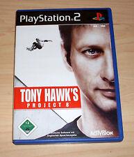 Playstation 2 Spiel - Tony Hawk's Project 8 ( Eight ) - PS2 Game - Skateboarding