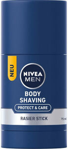 NIVEA MEN Body Shaving Stick Protect & Care under the shower New from Germany