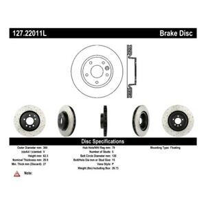 StopTech 127.22011L Sport Brake Rotor For 10-16 Land Rover LR4 NEW