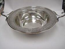 Sterling Silver International Wedgwood Bowl V50A, Centerpiece, Fruit, Wedgewood