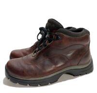 Teva Hiking Boots Womens 6 EU 37 Maroon Burgandy Leather
