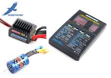 Hobbywing EzRun Combo reg. 18A motore 18T Program Card per 1:12 1:18 modellismo