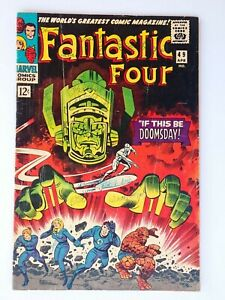 Fantastic Four #49 1st full appearance of Galactus 2nd Silver Surfer 1966 Marvel