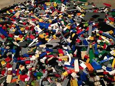 Lot Of 400 Random Lego Pieces Bricks /  Lb  / Parts / Mix Colors / +2 FIGURES