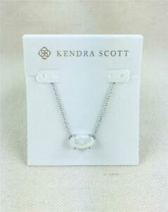 Kendra Scott Ever Ivory Pearl Silver Necklace