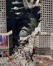 9/11 NEW YORK CITY GROUND ZERO DAMAGE 8X10 PHOTO WTC