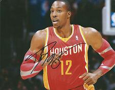 **GFA Houston Rockets *DWIGHT HOWARD* Signed 8x10 Photo COA**