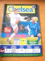 08/04/1999 European Cup Winners Cup Semi-Final: Chelsea v Real Mallorca  . No ob