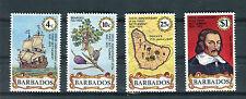Barbados 1975 350 anniversario primo insediamento alle Barbados Yvert 405-08 MNH