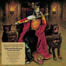 Edward the Great: Greatest Hits by Iron Maiden (CD, Nov-2002, Sony Music Distrib