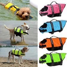 Pet Life Jacket Puppy Dog Swim Safety Vest Oxford Reflective Stripe XS-XL
